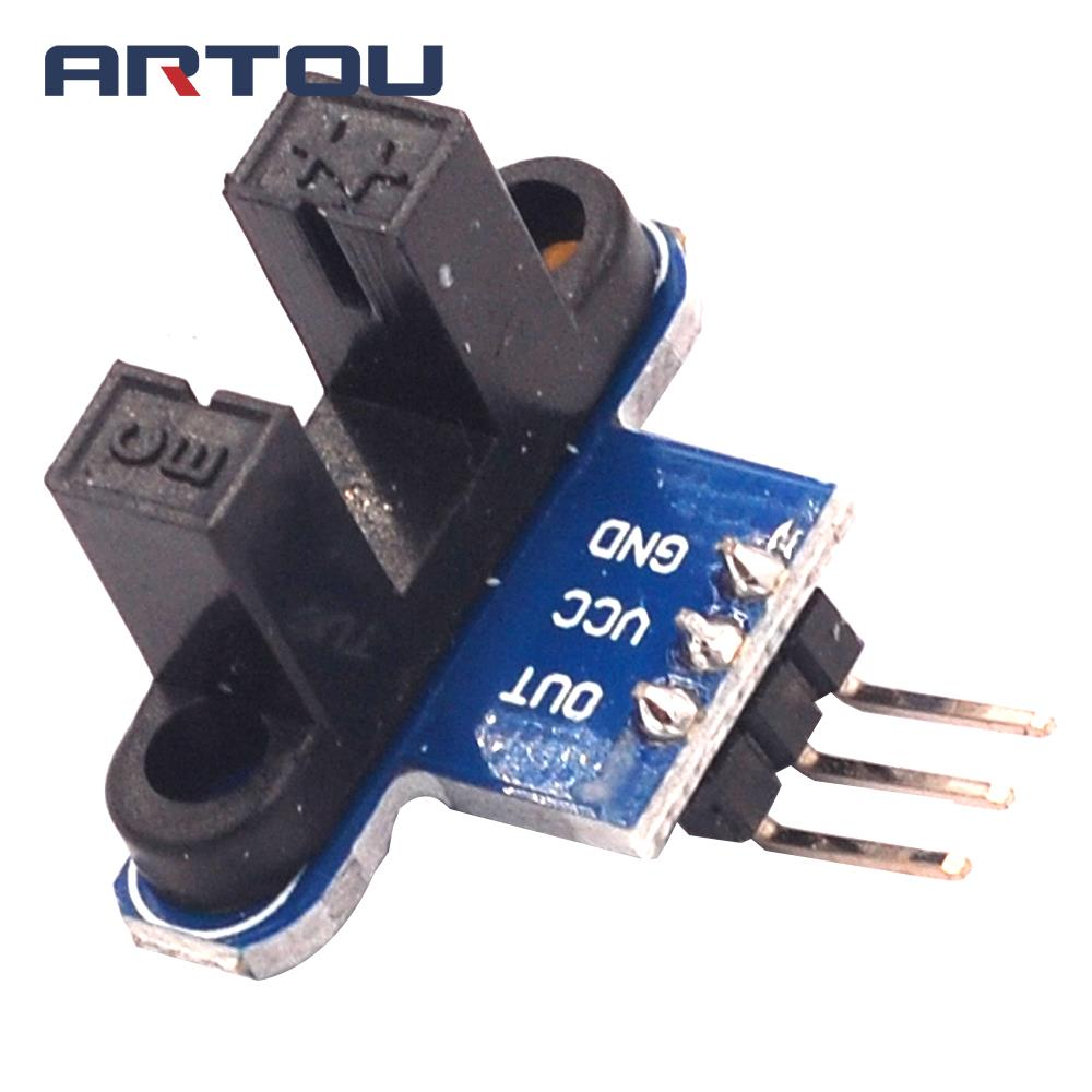 Motor Test IR Infrared Slotted Optical Speed Measuring Sensor Detection Optocoupler Module