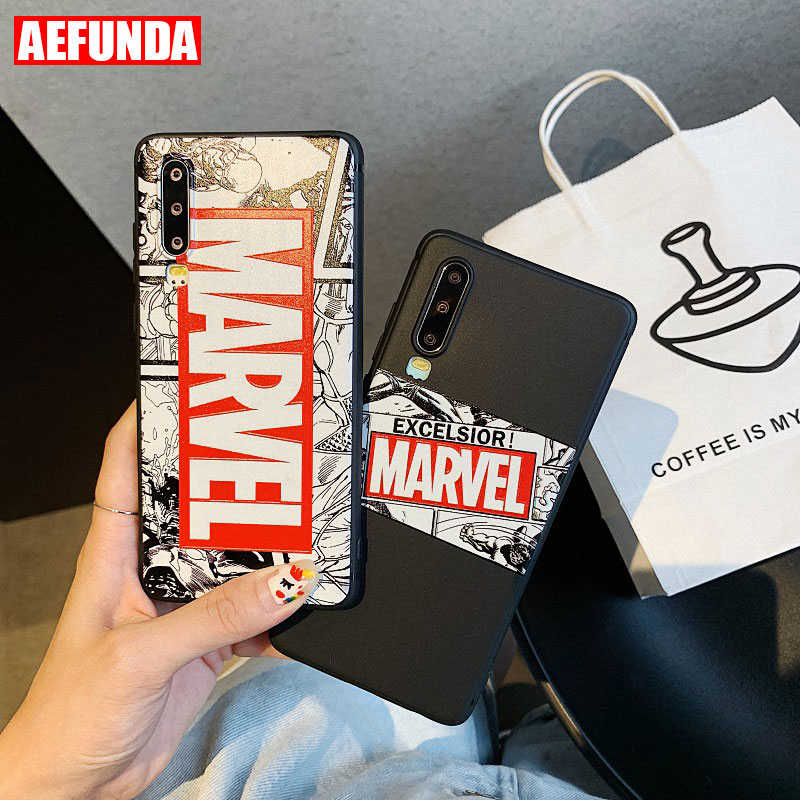 <font><b>Marvel</b></font> Avengers Venom <font><b>Phone</b></font> <font><b>Case</b></font> For Huawei P20 P30 Lite Mate 10 20 Pro Nova 2S 3 3i 4 <font><b>Cases</b></font> Fashion Soft TPU Silicone Cover image