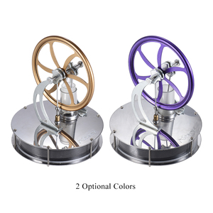Image 5 - Aibecy Low Temperature Stirling Engine Motor Model Heat Steam Education Toy DIY Kit