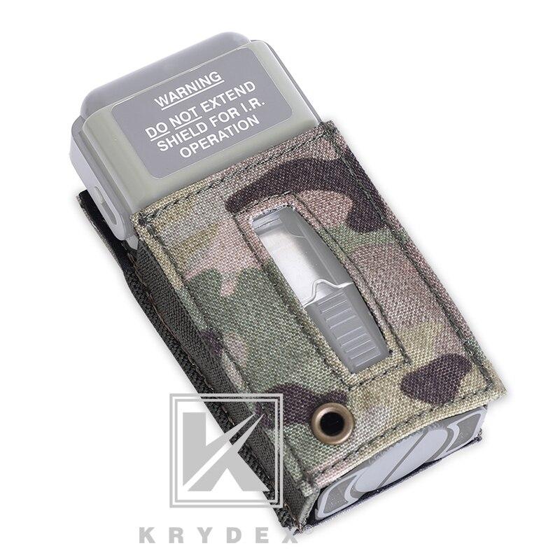 Bolsa de Proteção Marcador de Montagem Loop para Ms2000 Krydex Tático Estroboscópica Portador Gancho & Socorro Capacetes Protetor Luz