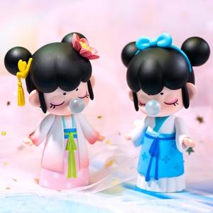 Image 4 - Robotime Nanci Blind Box China Style Character Model Action Figure for Girls Birthdays Gift