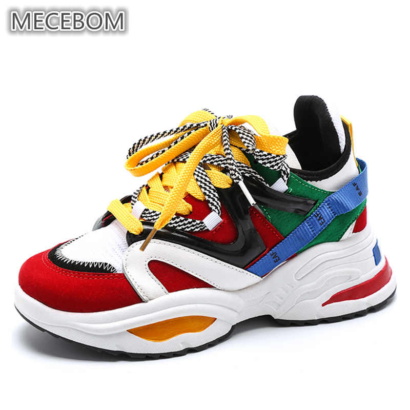 Trend Women Chunky Sneakers Multi color
