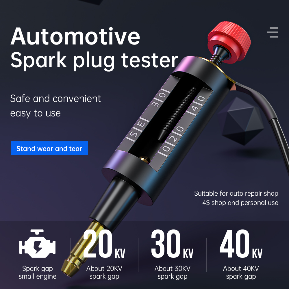 Plug-Tester Test-Tool Car-Accessories Ignition-System Spark Autos Adjustable title=