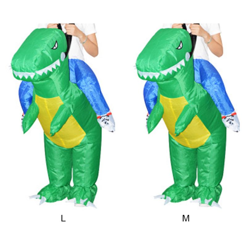 Inflatable Animal Dinosaur Halloween Party Costume Three-dimensional Rideable Dinosaur Mount Dress