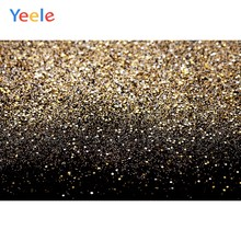 Golden Glitters Light Bokeh Photophone Portrait Baby Pet Photo Backgrounds Photographic Backdrops For Photo Studio Photozone(China)