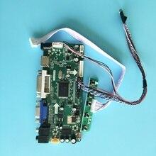 """Комплект для B140RTN03.2 LVDS 40pin DVI аудио VGA HDMI 14 """"ЖК дисплей светодиодный экран плата контроллера 1600X900 DIY 2019 драйвер"""
