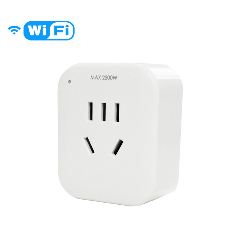 Smart Socket Mobile Phone Remote Wireless WiFi Timing Switch Household Intelligent Remote Control Socket 10A