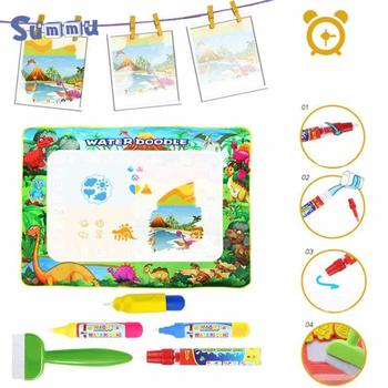 Toys Water Drawing Mat  Board Painting and Writing Doodle With Magic Pen Non-toxic Drawing Board for Kids Drawing kid water drawing mat doodle board