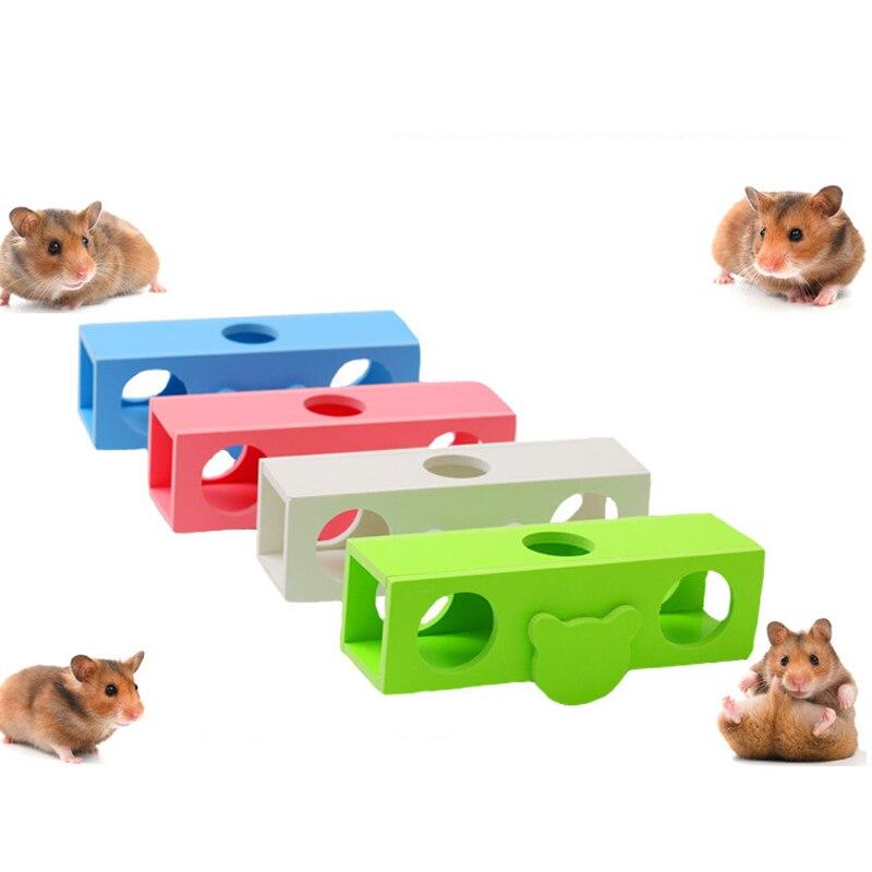 2020 модная забавная любимая Роскошная игрушка для хомяка балансирующая наклонная цилиндрическая заточка игрушка для дома упражнение для до...