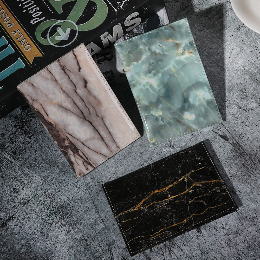 2019 New Colorful Marble Style Passport Cover Waterproof Passport Holder Travel Cover Case Passport Holder Passport Packet Gifts