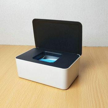 Baby Wet Wipes Dispenser Tissue Storage Box Mouth Masks Case Holder with Lid R2JF недорого