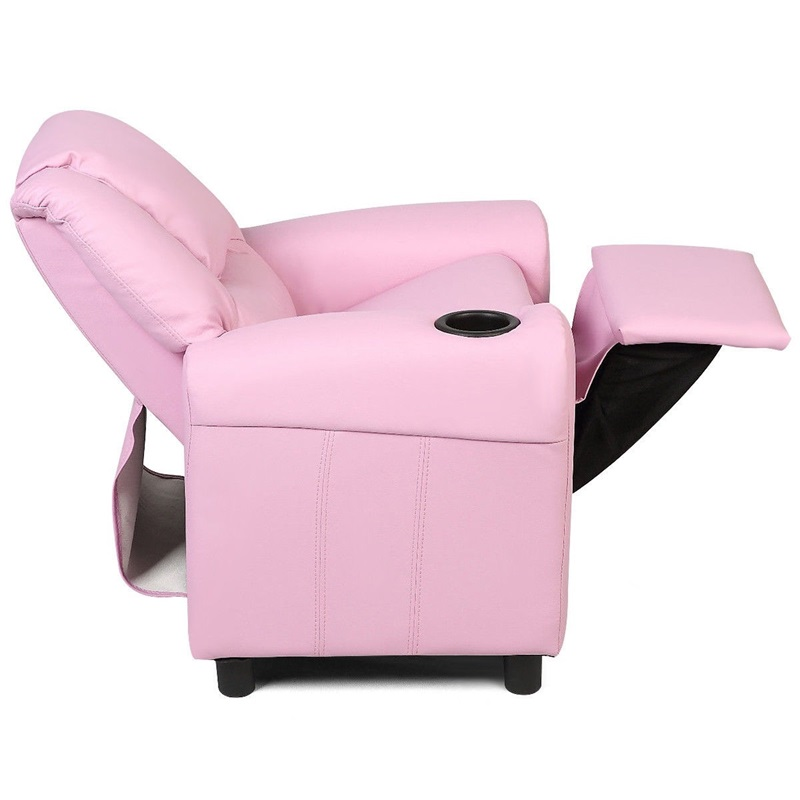 Bed Room PU Sponge Kids Chair Recliner Armchair Sofa Baby Furniture Home Decor HW54210