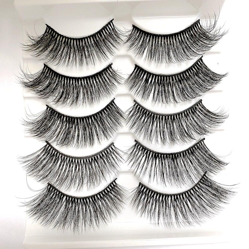 Jolie Beauty Lashes - April   Wispy Faux Mink Eyelashes