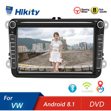 Hikity Android Dvd 2Din Auto MP5 Multimedia Video Player Gps Auto Radio Auto Radio Stereo 8'audio Voor Seat/Skoda /Passat/Golf/Polo(China)