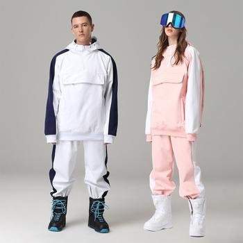 Unisex płaszcz narciarski kobiety mężczyźni odzież narciarska kurtka snowboardowa wiatroszczelna wodoodporna kurtka narciarska Outdoor ubranie sportowe bluza ciepły płaszcz tanie i dobre opinie CN (pochodzenie) Pasuje prawda na wymiar weź swój normalny rozmiar Suknem WOMEN