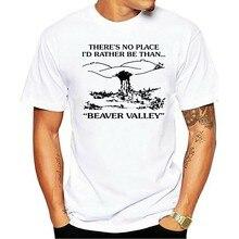 Não há Nenhum Lugar Id Antes Ser Fazer Opaco Castor Vale Masculino 2021 t-shirt
