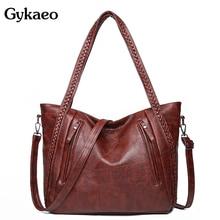 Gykaeo sacs à main de luxe Vintage pour femmes, sacoche grande capacité de styliste, fourre tout pour dames