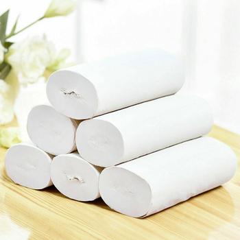 12 sztuk zestaw papier toaletowy papier do kąpieli w domu papier toaletowy papier toaletowy biały papier toaletowy papier toaletowy papier toaletowy ręczniki papierowe tanie i dobre opinie Linmei 3 ply 1800cm*14cm Virgin wood pulp 443484 700g 12pcs