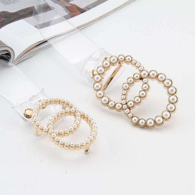 2020 Fashion Clear Belt For Women Pearl Ring Buckle Waist Belts Female Transparent Cinturon Mujer Plastic Designer PVC Waistband