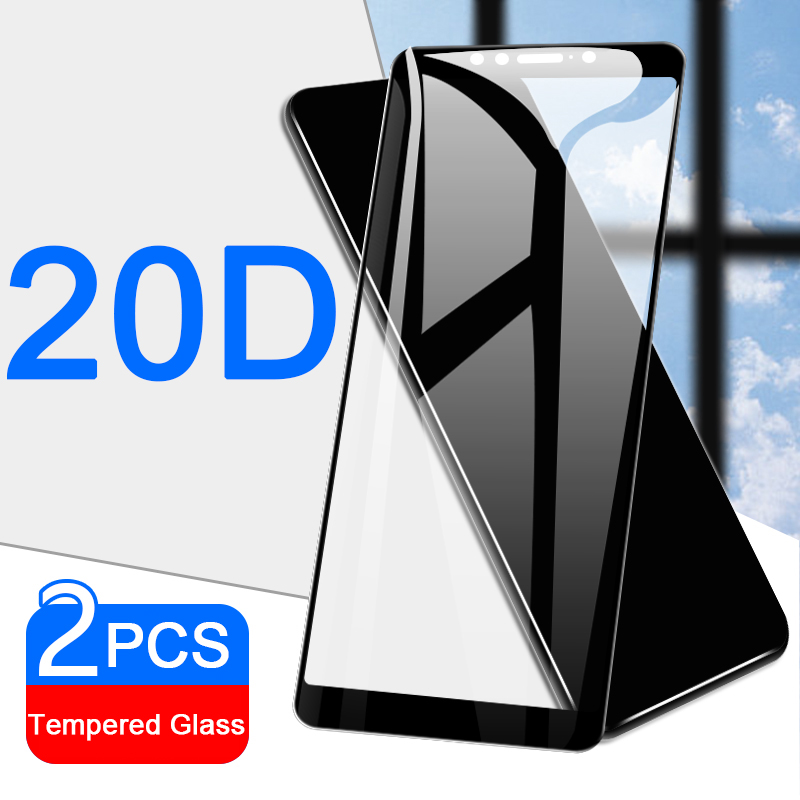 2pcs 20D Tempered Glass Screen Protector On The For ASUS Zenfone Max Pro M1 ZB601KL M 1 ZB602K ZB555KL Protective Glass 9H Film
