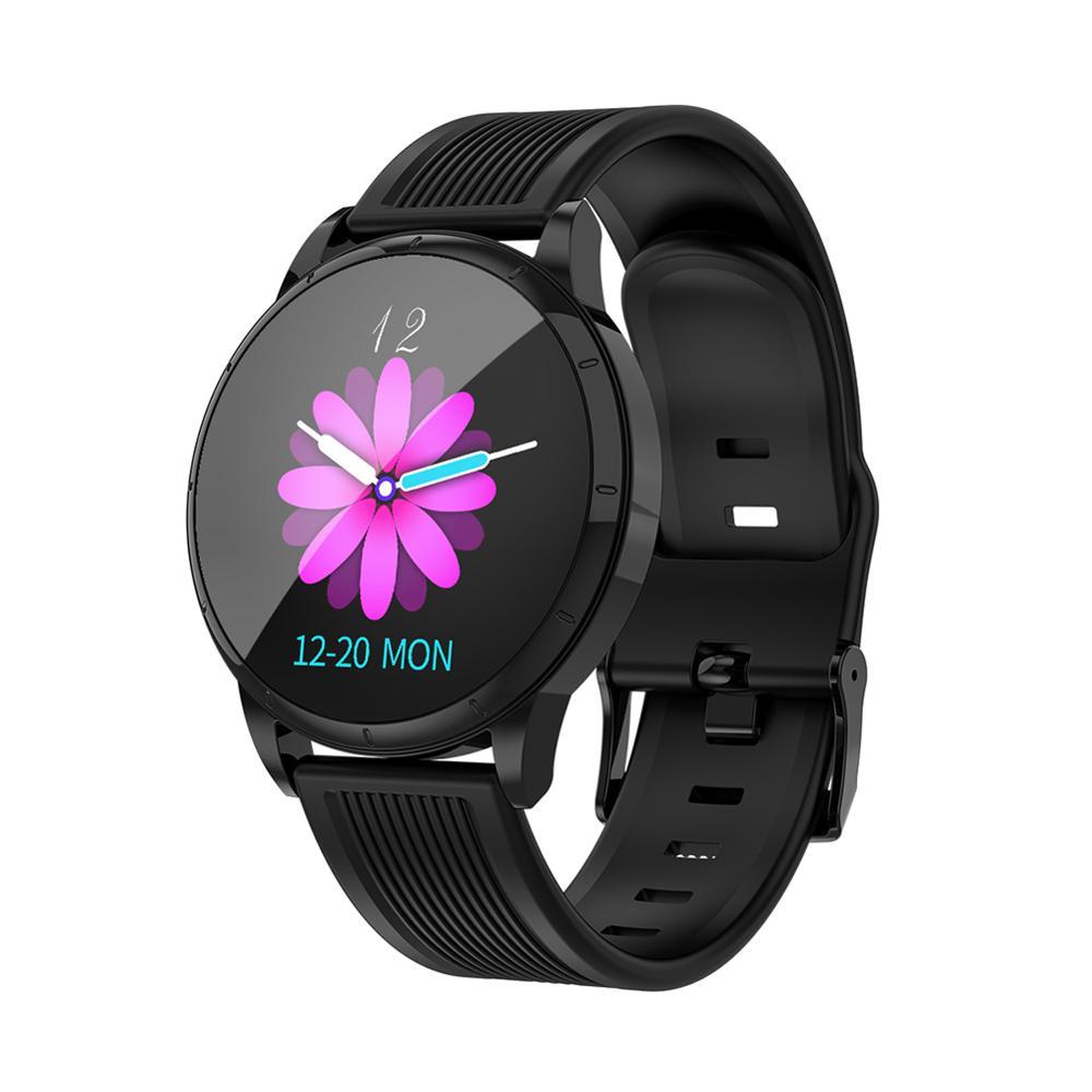 MK07 Смарт часы браслет 1,22 дюймов Большой экран женский браслет сердечный ритм кровяное давление шаг движение физиологический цикл