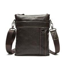 Мужские кожаные сумки, портфель из воловьей кожи, сумки-мессенджеры из натуральной кожи, мужские деловые сумки через плечо, повседневная мужская сумка на плечо