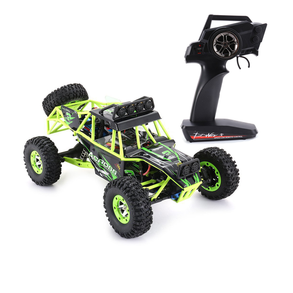 Wltoys 12428 RC Climbing Car Toys 50KM/H 1/12 Scale 2.4G 4WD Remote Control  Car Off-road Vehicle Toy Gift With 1/2/3 Battery