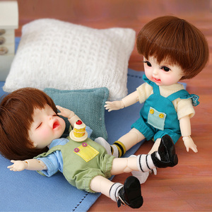 Image 1 - Rerun 또는 데이지 1/8 Dollbom BJD SD 인형 바디 모델 Baby Girls Boys 고품질 장난감 가게 수지 피규어 Lati Body