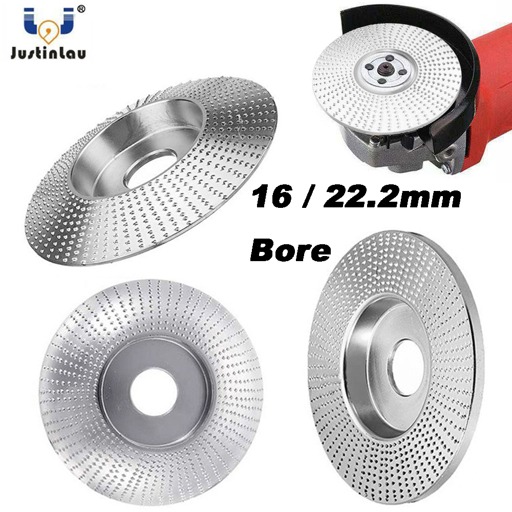 High Quanlity Wood Grinding Wheel Rotary Disc Sanding Wood Carving Tool Abrasive Disc Tools For Angle Grinder 16/22.2mm Bore