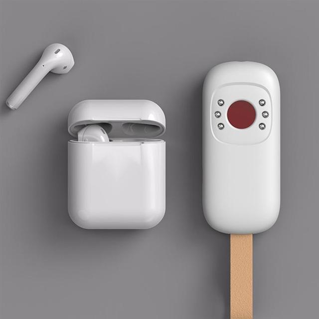 Portable Anti Spy Detector LED Infrared Hidden Camera Signal Tracker Detector 5