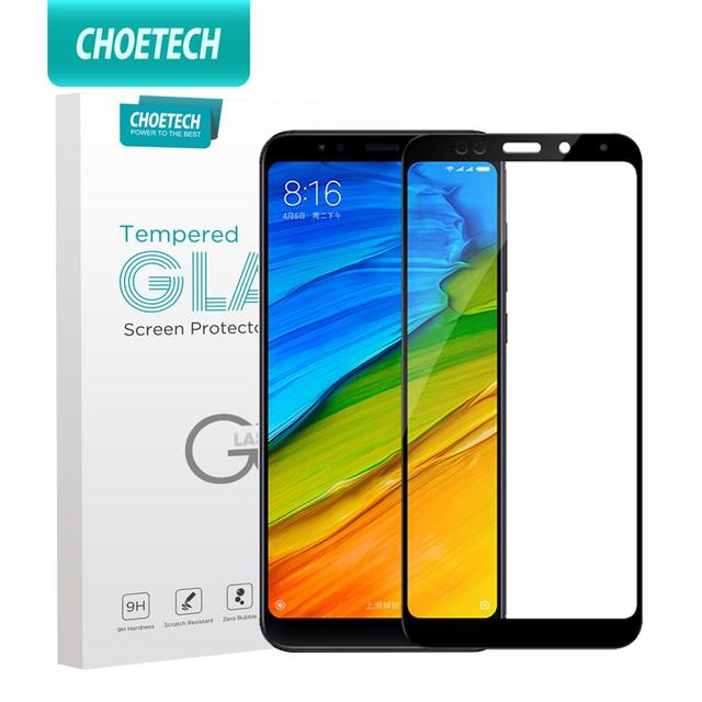 CHOETECH temperli cam Xiaomi Redmi için not 5 6 7 8 Pro ekran koruyucu cam Xiaomi Mi 9T a3 Redmi 7 7a 6a 4 4x s2 film