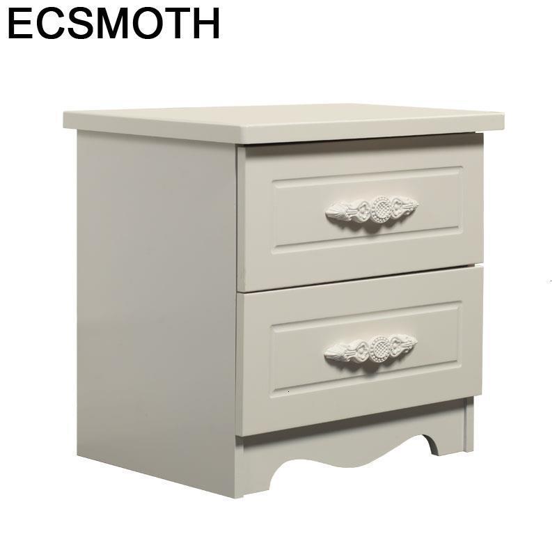 Komidin Mesita Noche Camera Da Letto Recamaras European Wooden Quarto Bedroom Furniture Cabinet Mueble De Dormitorio Nightstand