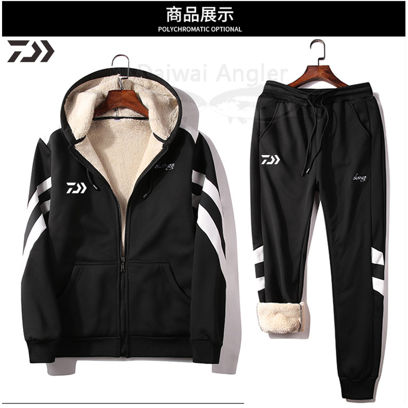 Daiwa ternos de pesca com capuz jaqueta