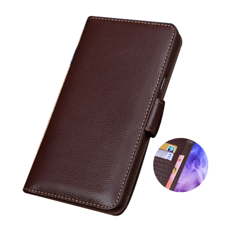 Genuine Leather Wallet Mobile Phone Case Card Holder For NOKIA 5.4/NOKIA 3.4/NOKIA 2.4 Holster Cover Stand Cases