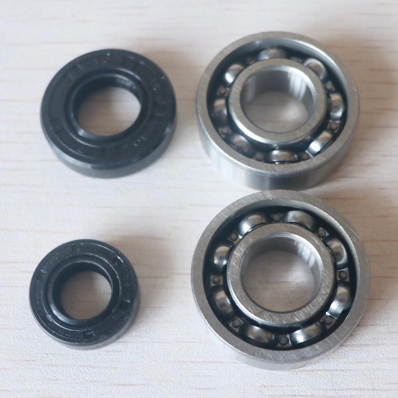 Crankshaft Oil Seal Grooved Ball Bearing Kit For 40-5 Brush Cutter & Grass Trimmer