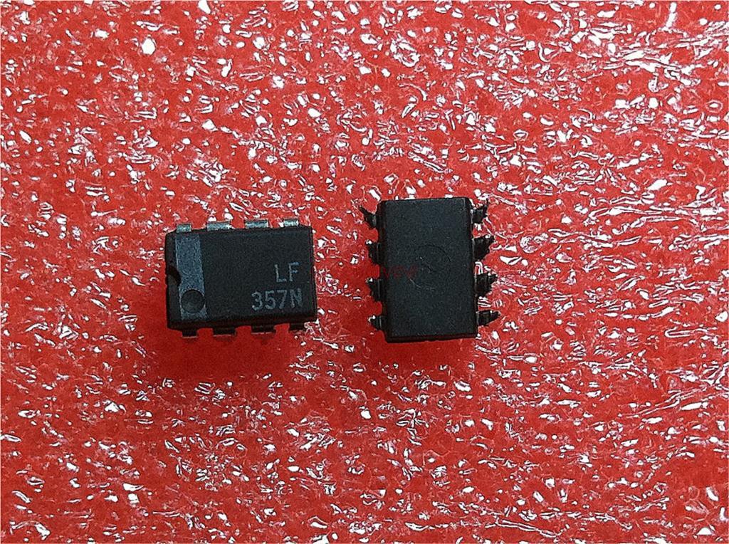 5pcs/lot LF357N LF357 DIP-8 Original Authentic In Stock