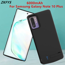 Battery Charger Case 6000mAh Power For Samsung Galaxy Note 10 Plus External Bank Backup Charging Back Cover Cases