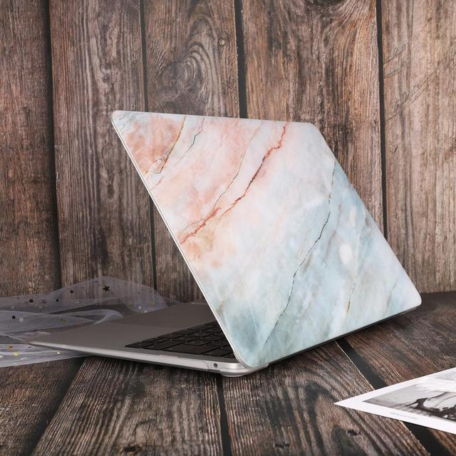 Marble Flower Bling Case for MacBook 2