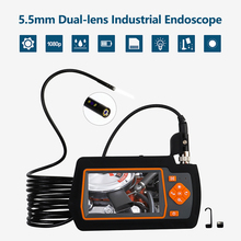 Borescope-Inspection-Camera Industrial-Endoscopes with Ips-Screen 1080P HD Leds-Lights