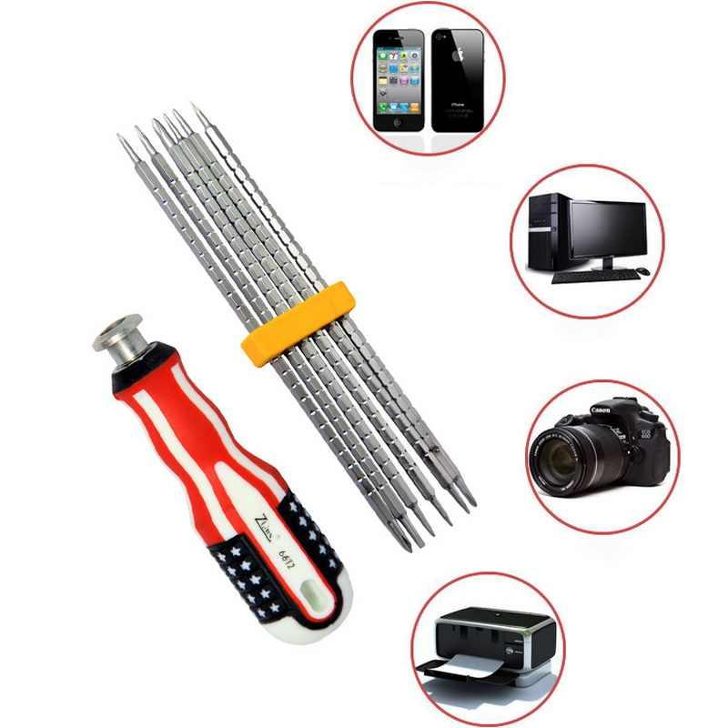Urijk 6 في 1 المهنة طقم مفك براغي المحمولة الدقة أداة إصلاح أداة كيت للهاتف الكهربائية صيانة الأجهزة