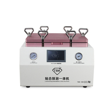 Free shipping TBK-308 OCA Vacuum Laminating Remover BUbubblerMACHINE Integrated 2 in 1 touch screen repair machine 15 Inch free shipping 7 inch ainol novo7 popular edition 1 touch screen 300 n3288c a00 touch panel screen