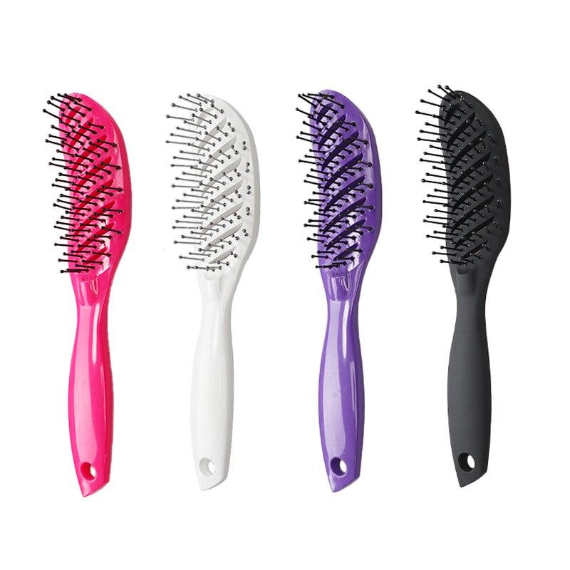 Detangling Thick Hair Massage Blow Drying Hair Brush For Men And Women Comfortable Scalp Brush Magic Hair Comb