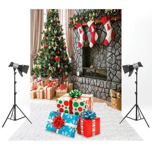 Image 2 - 1PC Christmas Decoration Photo Background Backdrop for Studio Vedio Shooting Prop Cloth Photography Backdrops