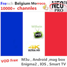 Willwin Neo tv IP tv французский IP tv Neo tv pro IP tv Live tv VOD фильмы арабский Великобритания США Европа Smart tv mag box