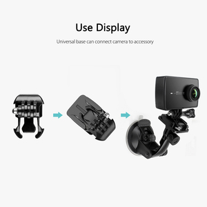 Image 5 - Vamson for Xiaoyi 2 4K Housing Side Mount Protect Frame Case for Xiaomi YI 4K/Lite Action Camera With Mount Base and Screw VP645