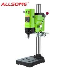 ALLSOME 1050W BG 5157 벤치 드릴 스탠드 미니 전기 벤치 드릴링 머신 드릴 척 3 16mm