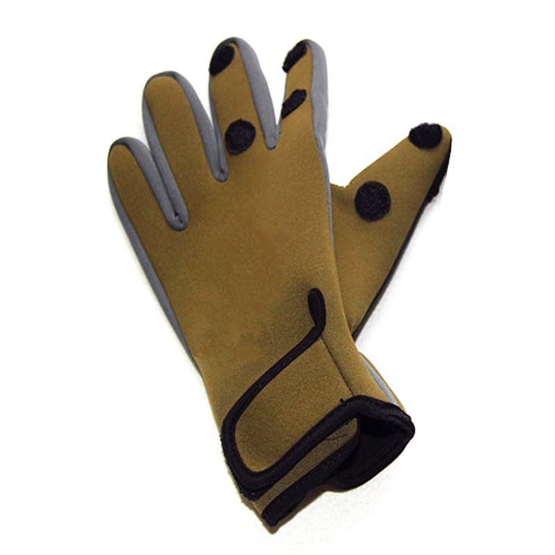 Outdoor Sports Gloves Winter Warm Riding All-finger Non-slip Fishing Gloves