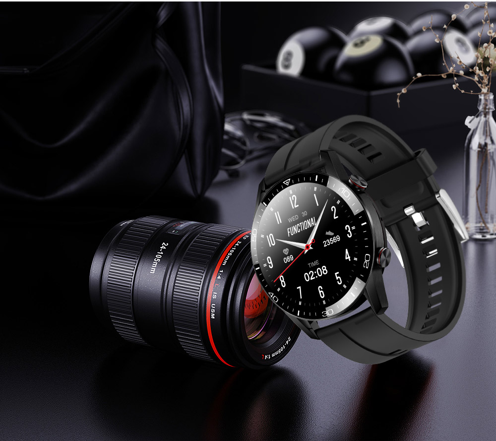 H04088d9fc6004f18af8ac155d761596cM TK2-8 Smart Watch For Men Bluetooth Call IP68 Waterproof Blood Pressure Heart Rate Monitor New SmartWatch Sports Fitness Tracker