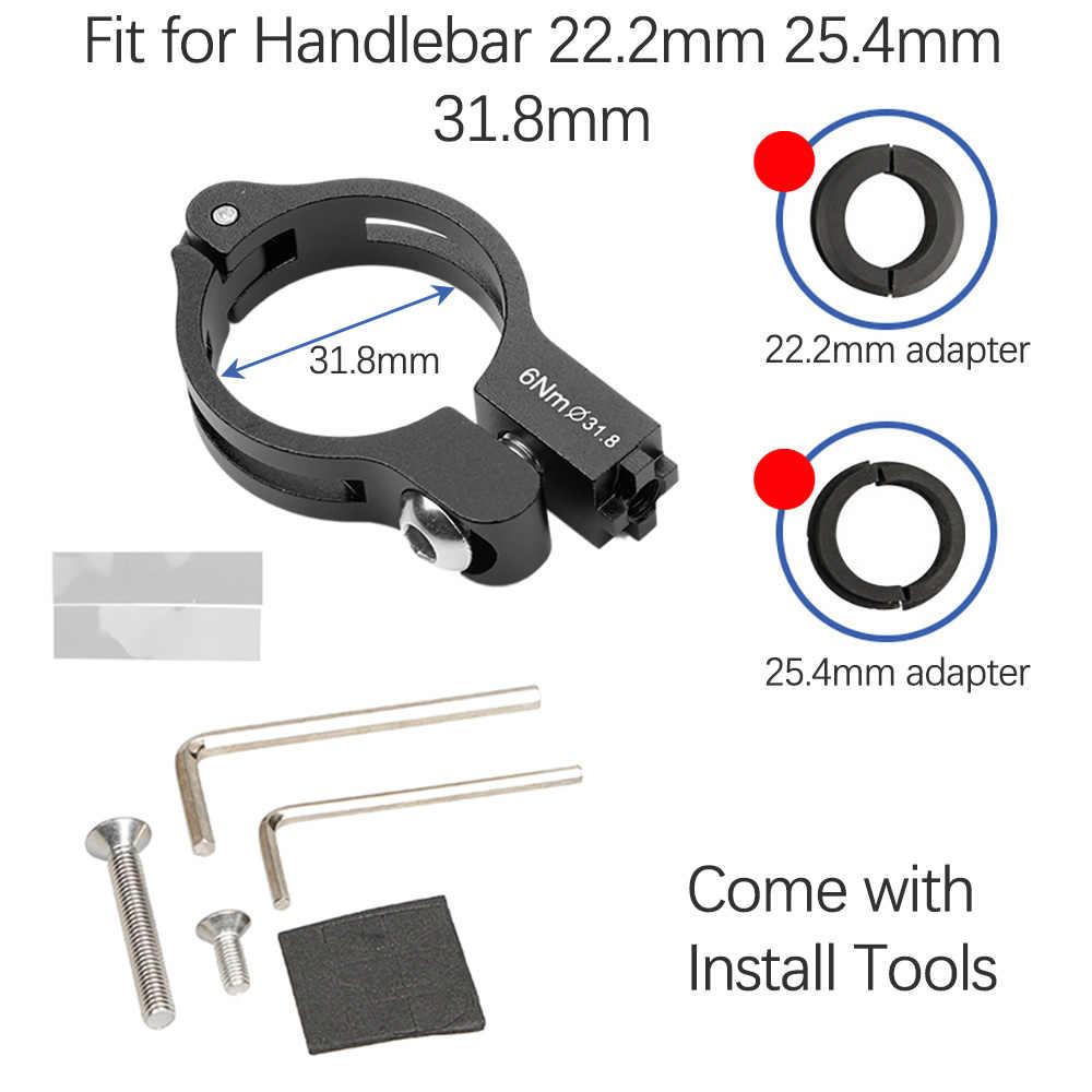 Гибкий держатель для телефона GUB, алюминиевый кронштейн для смартфона, горного велосипеда, мотора, велосипеда для Samsung, Huawei, Xiaomi, iphone, скутера 22,2