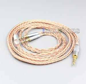 LN006748 2,5 мм 3,5 мм XLR сбалансированный 16 ядер 99% 7N OCC кабель для наушников для Denon AH-D7200 AH-D5200 3,5 мм разъем для наушников